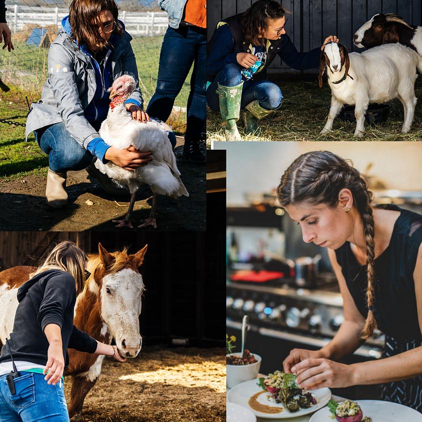 Charlie's Acres Farm Tour and Plant-Based Cook Along with Alana Joy Eckhart