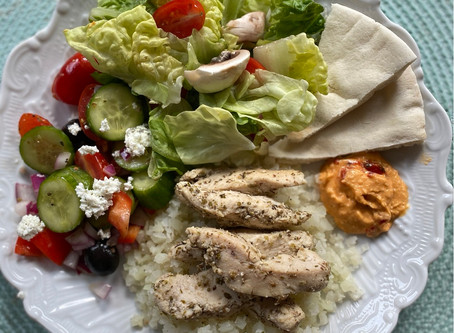 Greek Chicken & Rice for the Family Win