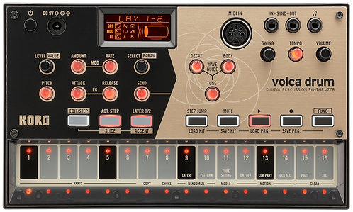KORG Volca Beats ANALOG RHYTHM MACHINE