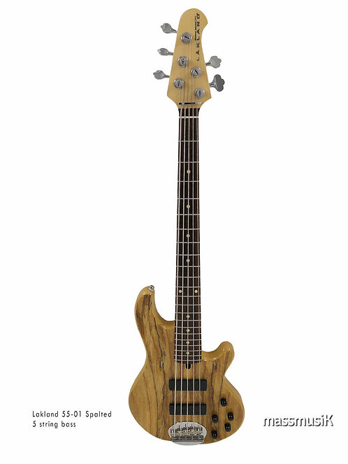 Lakland SKYLINE 55-01 Spalted Deluxe
