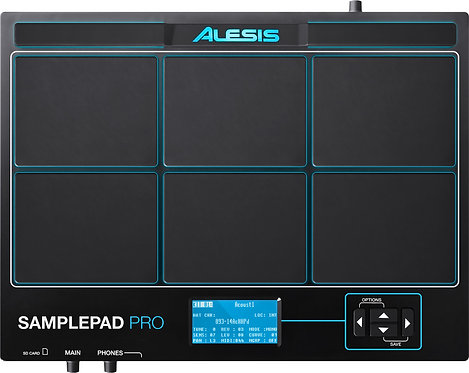 ALESIS SamplePad Pro 8-Pad Sample/Loop Player with 200+ Built In Sounds
