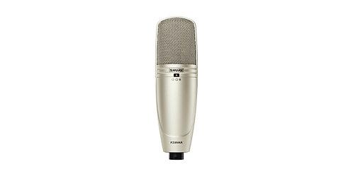 Shure KSM44A: Large Diaphragm Multi-Pattern Condenser Microphone