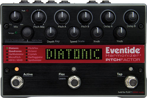 Eventide PitchFactor: Harmonize and Synthonize
