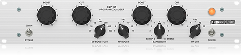 KLARK TEKNIK EQP-KT: Classic Tube Equalizer with Switchable Frequency Selection
