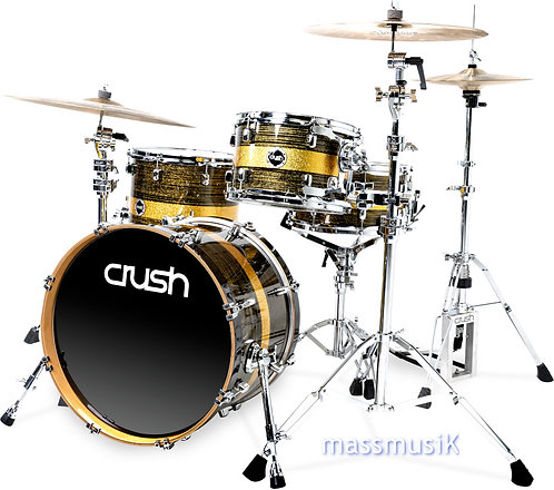 """CRUSH Sublime ST Maple 3 Piece Shell Pack - 20"""" Bass"""