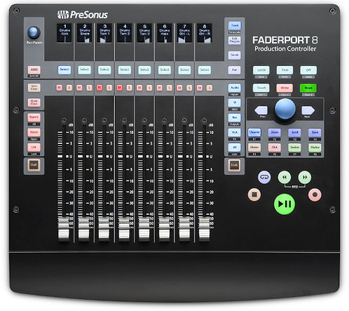 PreSonus FaderPort 8: USB control surface with 8 motorized faders