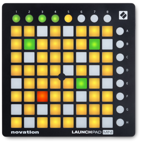 Novation Launchpad Mini MK3 Ableton Live Grid Controller