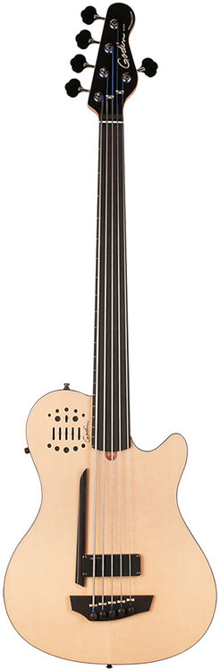 Godin A5 Bass ULTRA Natural SG Fretless EN SA