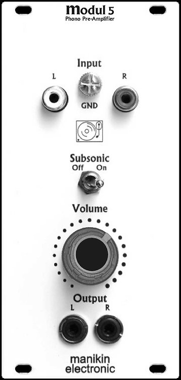 Manikin  5: Phono Pre-Amplifier & Subsonic-Filter
