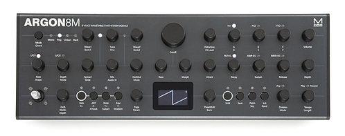 MODAL ARGON8M Tabletop 8 voice wavetable synthesiser