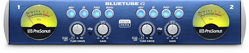 PreSonus BlueTube DP v2 2-Channel Mic / Instrument Tube Preamp