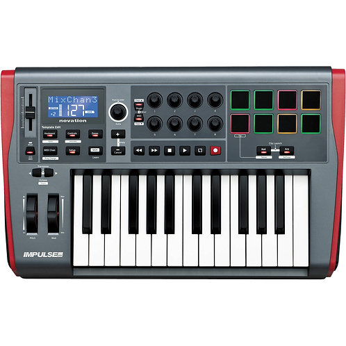Novation Impulse 25 - 25 Key Advanced Controller