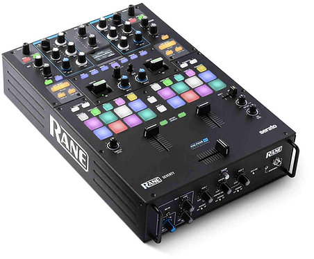 Rane SEVENTY: Solid Steel, Precision Performance Battle Mixer