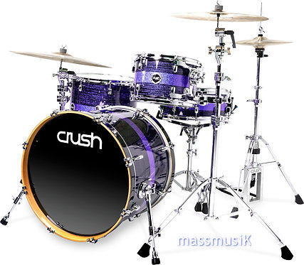 """CRUSH Sublime ST Maple 3 Piece Shell Pack - 22"""" Bass"""