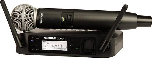 Shure GLXD24/SM58