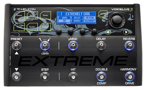 TC-Helicon VOICELIVE 3 EXTREME: Unrivaled Vocal and Guitar Effects