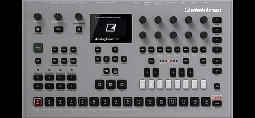 Elektron Analog Four MKII: 4 voice analog tabletop synthesizer