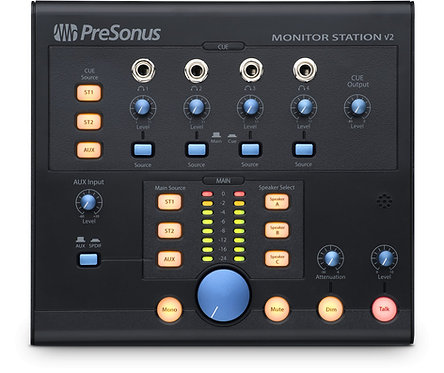 PreSonus Monitor Station V2: Desktop Studio Control Center with SPDIF input