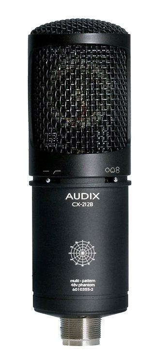 Audix CX212B Large diaphragm, multi-pattern studio condenser microphone