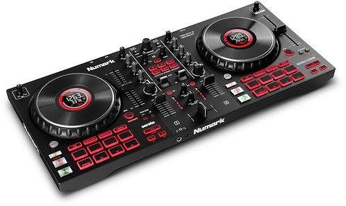 Numark Mixtrack Platinum FX 4-Deck Advanced DJ Controller with Jog Wheel Display