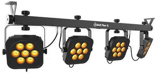 Chauvet 4BAR Flex Q: four RGBA par fixtures on one bar