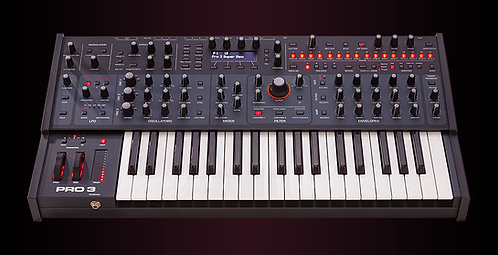 Sequential Pro 3 - 37-key Hybrid Monosynth with 3-voice Paraphonic Mode