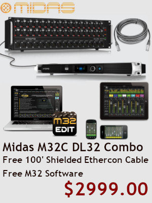 Midas M32 DL32 Combo