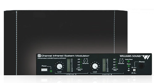 Williams AV WIR TX925:  SoundPlus® 2-channel Infrared System IR TRANSMITTER