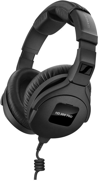 Sennheiser HD 300 PRO Closed Back Monitoring Headphones
