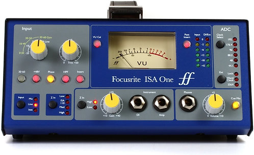 Focusrite ISA One: Classic Mic Pre With Independent DI