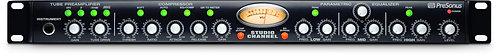 PreSonus Studio Channel: Single Channel Tube Strip - Mic Preamp / Comp /EQ