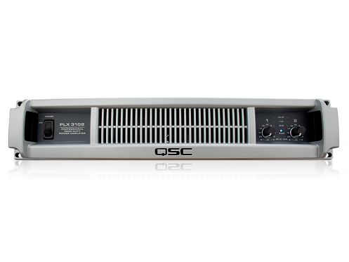 QSC PLX3102 1000 watts/ch at 4Ω Power Amp