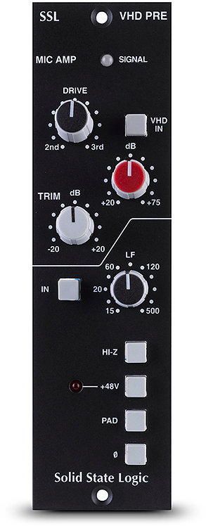 SSL VHD Mic Pre for 500-series