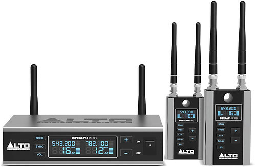 Alto Stealth Pro PROFESSIONAL 2-CHANNEL WIRELESS AUDIO SYSTEM