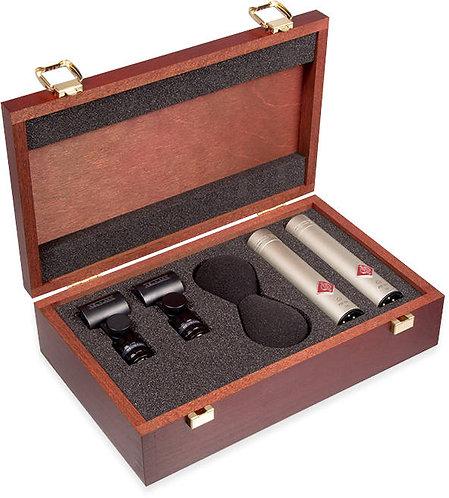 Neumann KM 184 Stereo Set: small diaphragm condenser Matched Set