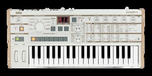 Korg microKORG S microKORG with Built-In Speaker System, 64 New Sounds