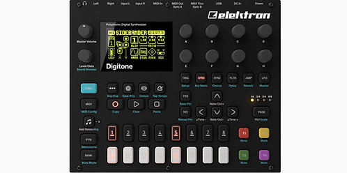 Elektron Digitone: Eight voice polyphonic digital synthesizer