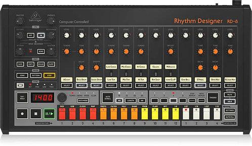 Behringer RHYTHM DESIGNER RD-8 Analog Drum Machine