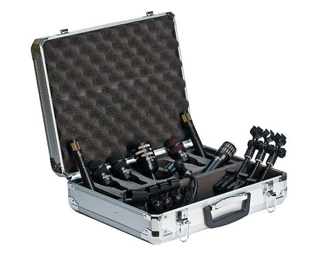Audix DP7 7-piece Drum Microphone Package. Industry Standard and Best Seller!