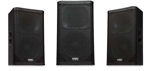 "QSC KW122 12"" two-way, 1000W active loudspeaker"