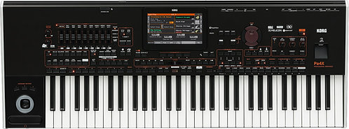 Korg Pa4X 61 61-Key Professional Arranger with Color Touch Screen, TC Helicon FX
