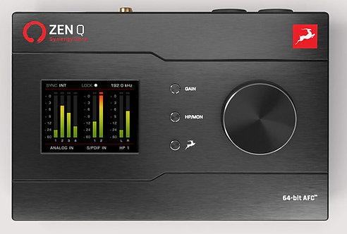 Antelope Audio Zen Q: 14 X 10 BUS-POWERED THUNDERBOLT 3