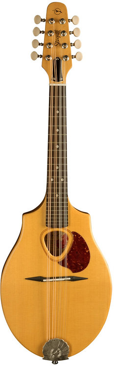 Seagull S8 Mandolin Natural: Solid Sitka Spruce Top, Maple Neck Through Body