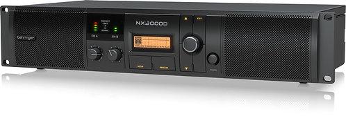 Behringer NX3000D: Ultra-Lightweight 3000-Watt Class-D Power Amplifier with DSP