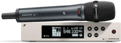 Sennheiser EW 100 G4-835-S Handheld Wireless w/ 835 Capsule  (cardioid, dynamic)