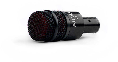 Audix D4 Instrument microphone for smaller kick drum, floor tom, brass