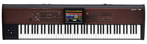 Korg KRONOS 2 88 LS  KRONOS with New Light Touch 88-Note Action and Lighter Body