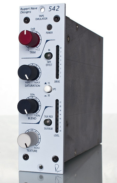 """Neve 542: """"True Tape"""" Emulation with Variable Silk, Soft-Clip"""