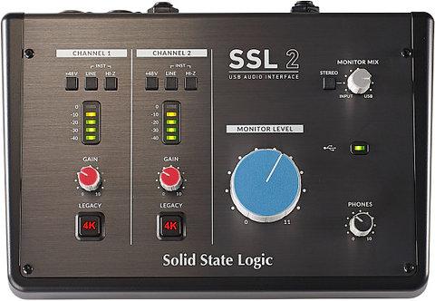 SSL SSL2: 2-In / 2-Out USB-C Audio Interface
