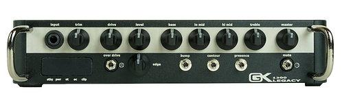 GK Legacy 1200 1200 watt ultralight head, switch mode power amp, analog preamp